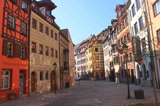 Handwerker-Fachwerkhäusern In Der Weißgerbergasse