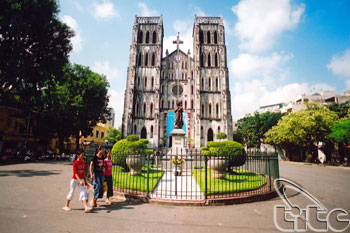 View Of Hanoi Cathedral