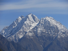 Hansling Peak From Munsyari