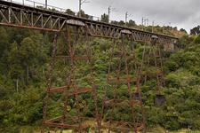 Hapuawhenua Viaduct - Whanganui National Park - New Zealand