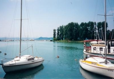 Harbor And  Galamb Sziget  Pigeon  Island