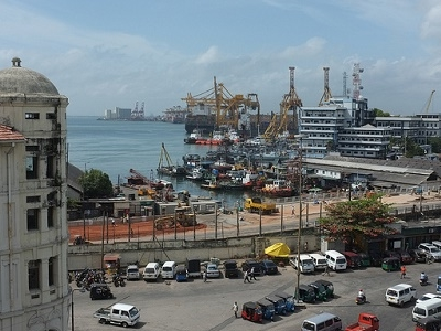 Harbour From Colombo Port Side