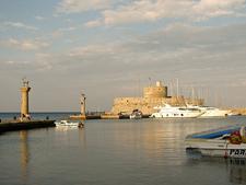 Harbour Rhodes Town