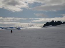 Harding Icefield Near Tustumena Glacier