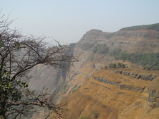 Hart Point Side View - Matheran - Maharashtra - India
