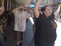 Haunted Broadway Dance Shot