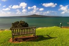 Hauraki Gulf & Rangitoto From Devonport NZ