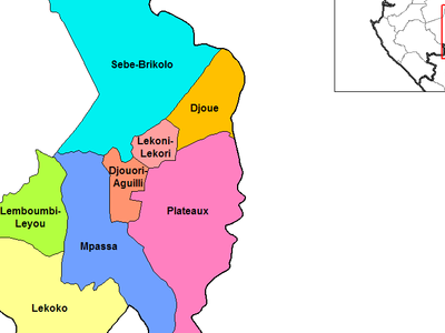 Haut   Ogooue Departments