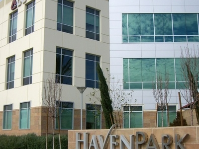 An Example Of The Office Parks Along Haven Avenue