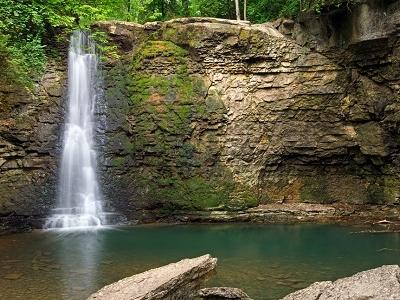 Hayden Falls At Hayden Falls Park - Dublin OH