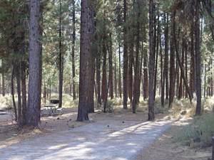 Helende Campground