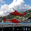 Helicopters @ Queen's Wharf In Wellington NZ