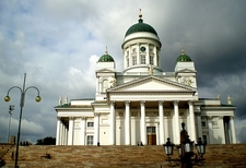 Helsinki Cathedral Front View