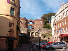 Helsingborg Stairs To Fortress