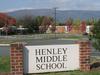 Henley Middle Schoolsign