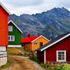 Henningsvaer Houses - Lofoten Islands
