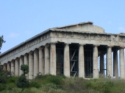 Another View Of Temple Of Hephaestus