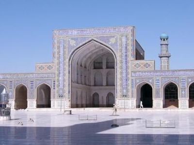 Friday Mosque Of Herat Courtyard