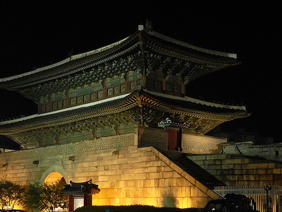 Heunginjimun - Night View