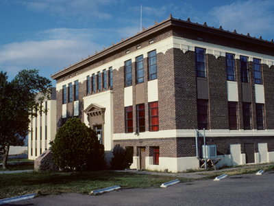 Hidalgo County Courthouse In Lordsburg