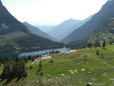 Hidden Lake Trail View - Glacier - Montana - USA