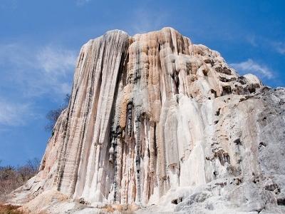 Hierve El Agua Rock Formation In Oaxaca