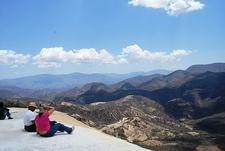 Hierve El Agua Valley Overlook