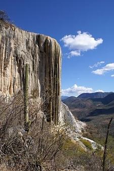 Hierve El Agua Western Rock Formation