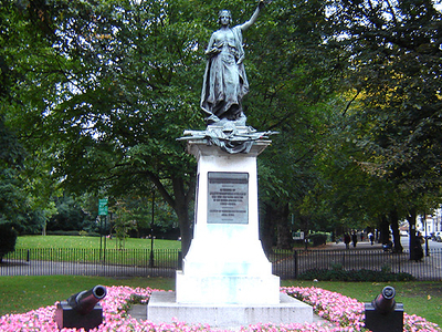 Highbury Fields' Boer War Memorial