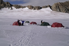 High Camp On Potaniin Glacier - Tavan Bogd NP