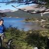 Hiker At Laguna Capri - Argentina Patagonia
