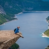 Hiker At Trolltunga