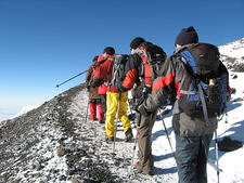 Hikers Along The Rongai Route - Day 5 - Kilimanjaro