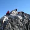 Hikers - Aneto Peak View