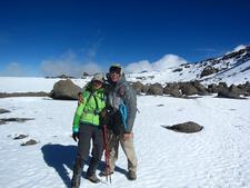 Hikers At Crater Camp - Kilimanjaro