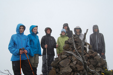 Hikers At Shira Needles - Kilimanjaro
