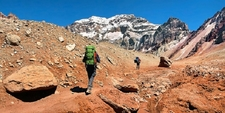 Hikers - Mount Aconcagua - Argentina