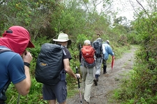 Hikers On Kilimanjaro Rongai Trail