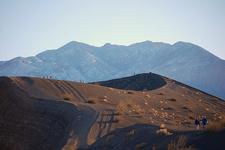Hiking At Ubehebe Crater
