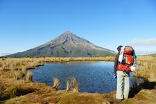 Hiking Egmont National Park NZ