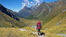 Hiking Mount Aspiring NP - South Island NZ
