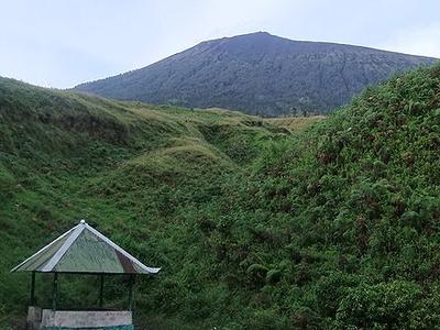 Hiking Post On Tengengean