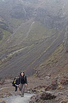 Hiking The Tongariro Alpine Crossing