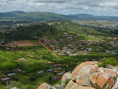 Hilltop View Of Iringa