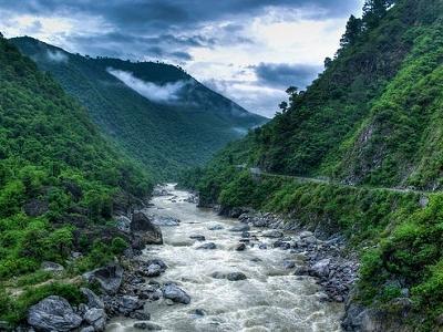 Himalayan Foothills Near Almora UT