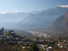 Himalayas From Kullu Valley