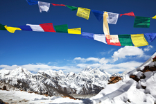 Himalayas - Prayer Flags - Nepal