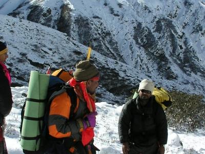 Trekkers In Ranikhet