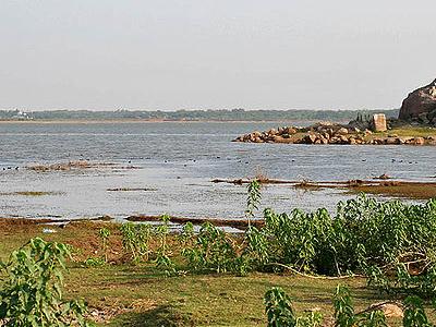 Himayat Sagar Lake View