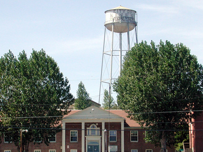 Hines Middle School And Water Tower